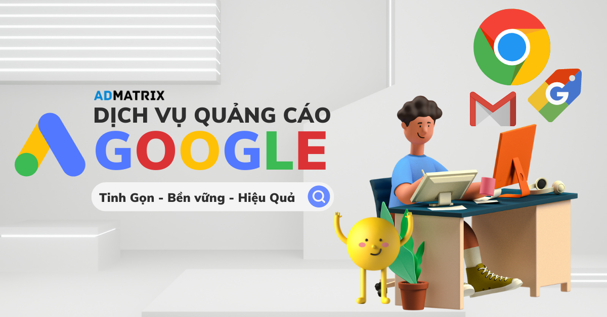 dich vu quang cao googl ads Admatrix size ngang